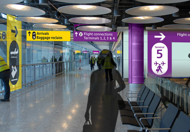 Heathrow Airport – T5 Security