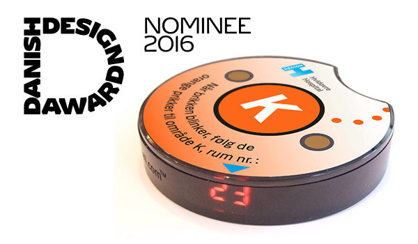 SafeBuzz is a finalist at Danish Design Award