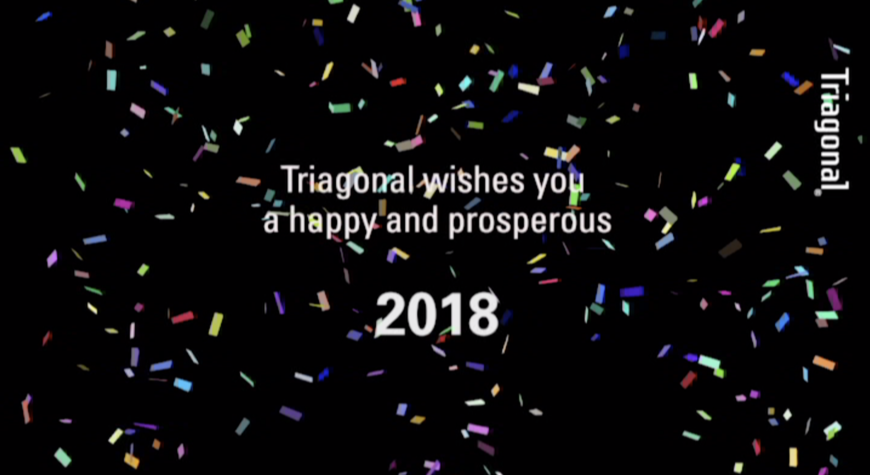 Happy new year from Triagonal 2018